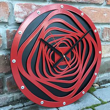 Часы настенные Helix (400х400х35 мм) [Металл]