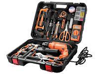 Набор инструментов для дома в чемодане 65 эл.