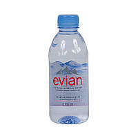 Вода негазированная Evian / Эвиан, вода без газа 0,33л Prestige