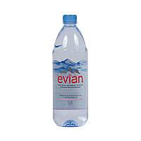 Вода минеральная негазированная Evian / Эвиан, 1,0 л ПЕТ