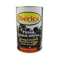 Маслины без косточки Iberica / Иберика, 4кг, сухой вес 2кг, калибр 200/220 Iberika, маслины Испания