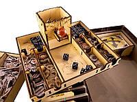 Мёртвый сезон Органайзер + Башня для кубиков  Tower Rex Dead of Winter: Organizer + Dicetower 285x285x58 мм
