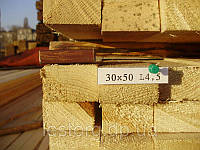 Рейка 30х50х4500, фото 1