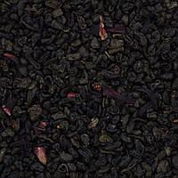 """Чай зеленый """"Земляника со сливками"""", крупнолистовой с кусочками земляники"""