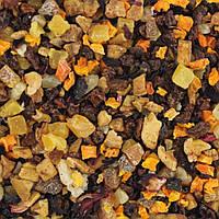 Чай фруктовый Фрутти Микс (дыня, яблоко, груша, папайя, абрикос, персик, изюм, шиповник)