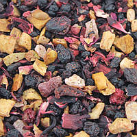 Чай фруктовый Красный дракон (яблоки, клубника, каркаде, черника, черная и красная смородина)