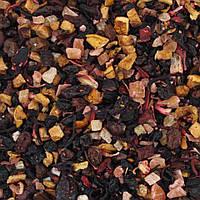Чай фруктовый Модный фрукт (ананас, папайя, яблоко, малина, брусника, каркаде,  изюм, жимолость)