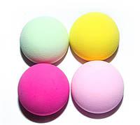 Спонж для тонального крема полукруглый ( разные цвета)