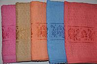 Полотенце баня (махра) (70х140) Польша Фламинго