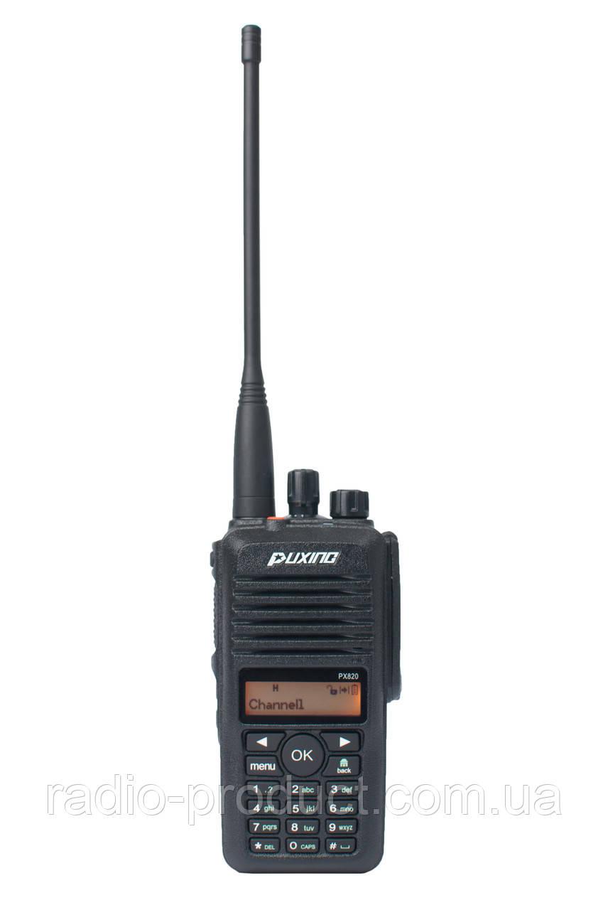 Puxing PX-820 VHF, IP67, DMR + Analog, радиостанция
