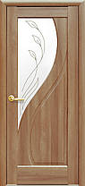 Межкомнатные двери Новый Стиль Прима стекло с рисунком, фото 2