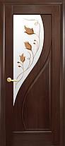 Межкомнатные двери Новый Стиль Прима стекло с рисунком, фото 3