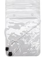 Водонепроницаемый чехол сумка для телефона, планшета, документов XXL. Белый