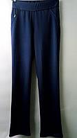 Леггинсы-брюки. Темно-синего цвета. Ткань эластик. Размеры: 48-58.