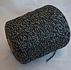 Черно-серо-белый (4 нити), 55% ШЕРСТЬ, 45 % PA