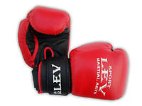 Перчатки боксерские Лев