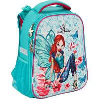 Рюкзак школьный каркасный Kite Winx fairy couture Винкс (W17-531M)