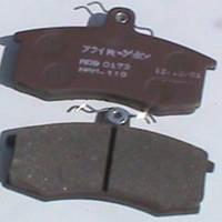Колодка ВАЗ 2108 передня тдк