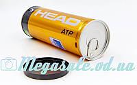 М'яч для великого тенісу Head ATP 570303: 3 м'ячі у вакуумній упаковці