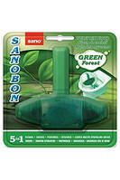 Подвесной блок для туалета SANOBON Зеленый лес, 55 гр арт: 990030