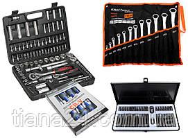 Набор торцевых ключей Bestcraft + ключи+набор бит+отвертки Kraft&Dele
