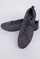Кеды мужские серые №11P004 (Серый), фото 1