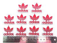 Аппликация, клеевая  Adidas 10 шт. в упаковке