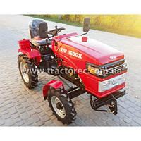 Мототрактор DW 160 GX + фреза тракторна + плуг