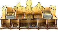 Ужас Аркхема Ладонь Древнего лоток для карт Tower Rex Arkham Horror Ancient Card Tray 395x92x185