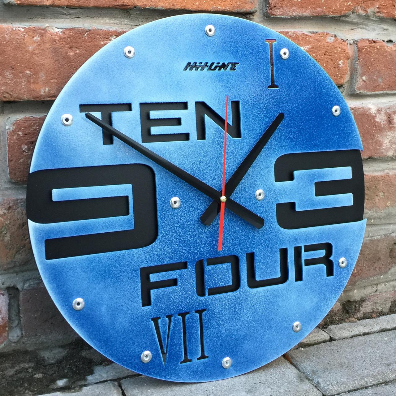 Часы настенные Ten-four-jeans (400х400х35 мм) [Металл, Открытые]