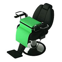 Детский пуфик на парикмахерское кресло 123A Panda