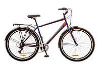 "Велосипед Discovery Prestige Man 29""14G Vbr St  рама 19"" 2017 (сине-серо-красный)"