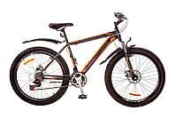"Велосипед Discovery Trek 26"" 14G DD рама 18"" St 2017 (серо-черно-оранжевый)"