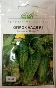 Огірок Надя F1 20нас (Проф насіння)