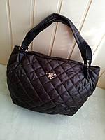 Стеганая женская сумка Коричневая, фото 1