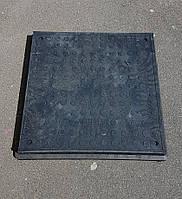 Люк GARDEN квадратный, черный, 1,5т