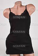 Изысканная женская майка Турция Hunex BD6580 Black 50-52