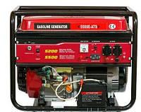 Бензиновый генератор Weima WM5500E 5,5Квт, 1 фаза, модель WM 188F Электростарт
