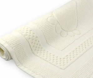 Коврик-Полотенце для ванной Ножки 50Х70 Хлопок 750гр/м2 Кремовый, фото 2