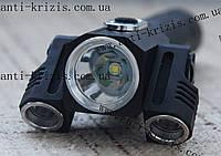 Ручной фонарь Police BL-1826-T6+2XPE 3в1 на 3 головы+магнит, №301, новинка 2017