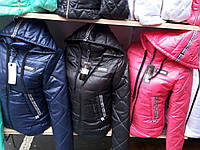 Женская весенняя куртка синтепон