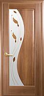 Межкомнатные двери Новый Стиль Эскада стекло с рисунком