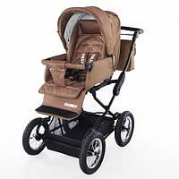 Детская Универсальная коляска-трансформер TILLY Family - надувные колеса,  люлька, москитка, ремень, корзина