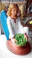 Статуя на могилу Ангел на коленях бетон 45 см