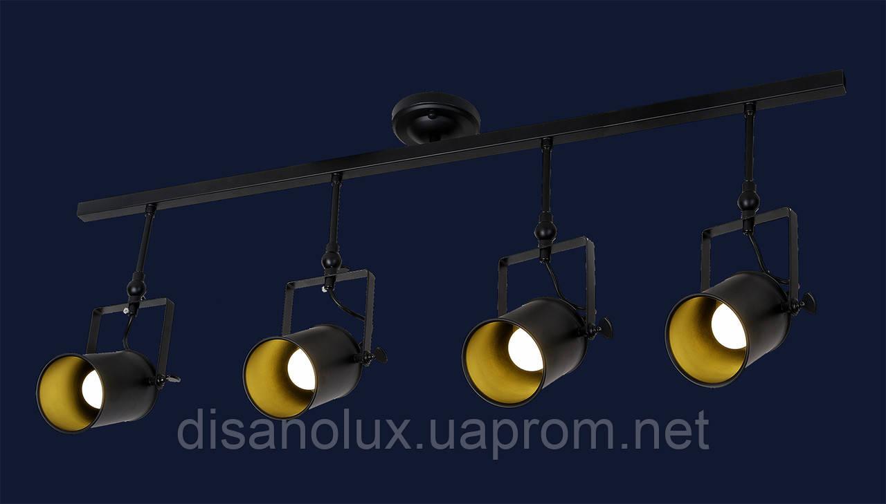 Светильник LOFT  759Y6040-4 BK