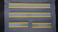 Накладки на пороги Mazda CX-5 2012- 4шт. Standart