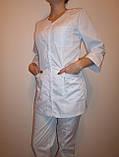"""Медицинский костюм """"Две кнопки"""" 3233 (коттон), фото 2"""