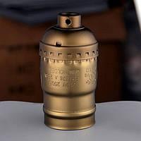 AMP патрон 33 old bronze  E-27 ( в сборе )
