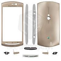 Корпус для мобильных телефонов Sony Ericsson MT15i Xperia Neo, золотистый