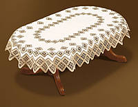 Скатерть 180х130 на овальный стол